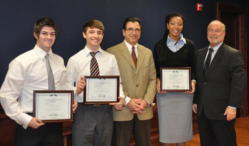 UNCG Award recipients
